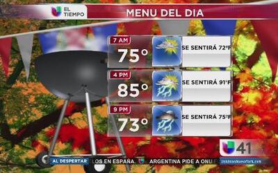 Clima lunes 1 de septiembre