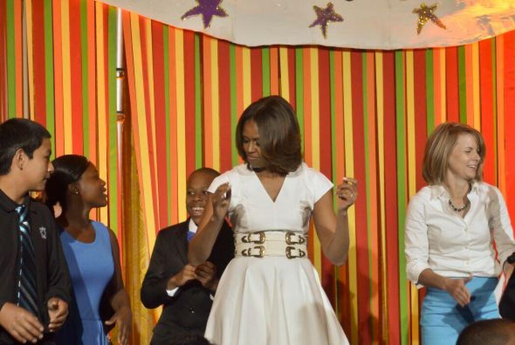 """Michelle Obama, por su parte, recordó que """"cuando se pregunta a quienes..."""