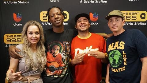Joey Bada$$ Visits 98.5 The Beat