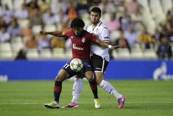 valencia apostaba a su localía para enfrentar al francés Lille.