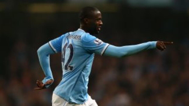 Yayá Touré hizo uno de los goles del Manchester City contra Wigan.