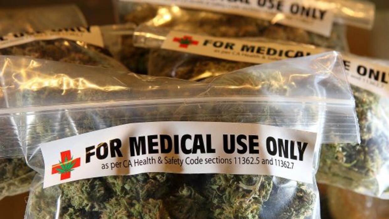 Bolsas de marihuana para uso medicinal en para pacientes en California