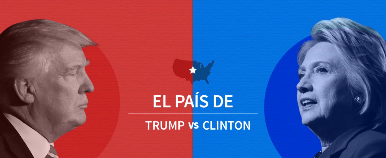 Imagen promo generica trump vs hillary