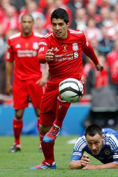 El uruguayo Luis Suárez jugó un segundo tiempo interesante...