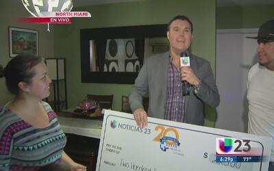 ¡Conoce a un ganador más de '23 mil gracias'!