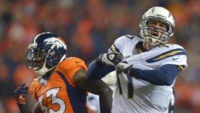 Philip Rivers vivió el sorprendente triunfo ante Broncos con la intensid...