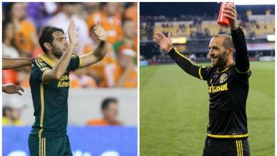 Diego Valeri y Federico Higuaín, una manera familiar de vivir la MLS.