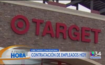 Target inicia campaña de contratación para la temporada navideña