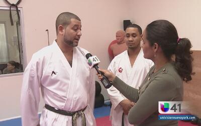 Dos karatekas hispanos salvan a una mujer de un violador que logró ser a...