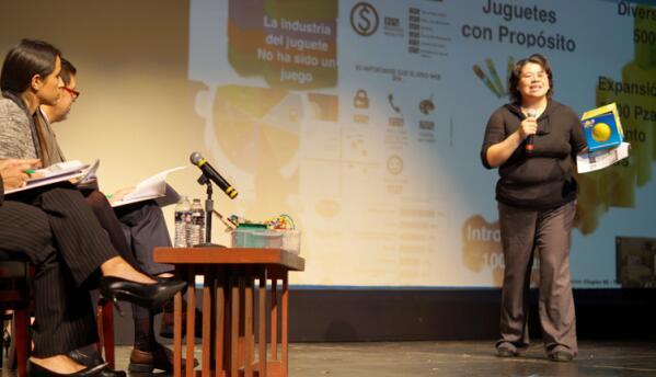 Sonia Murrieta ganó un premio para iniciar su propio negocio.