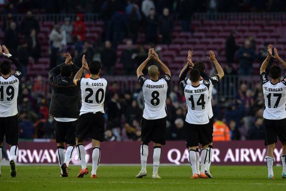 Se fueron los minutos y los tres puntos del Barcelona. Valencia se llev&...