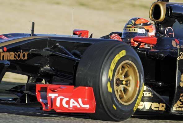 Kubica practicó durante la semana en Valencia antes de ir a Italia al fa...