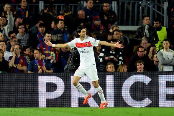 El argentino Javier Pastore culminó un ataque parisino y defini&o...