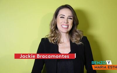 Jackie Bracamontes habló con Renzo y Maria Esther y juntos viajaron a su...