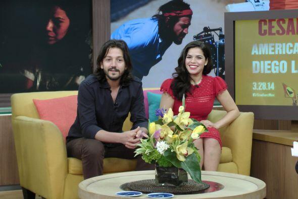 La guapa actriz de origen hondureño interpreta a la esposa del famoso ac...
