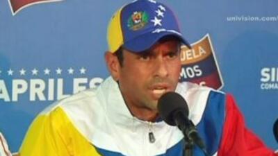 Henrique Capriles denunció veto de Globovisión