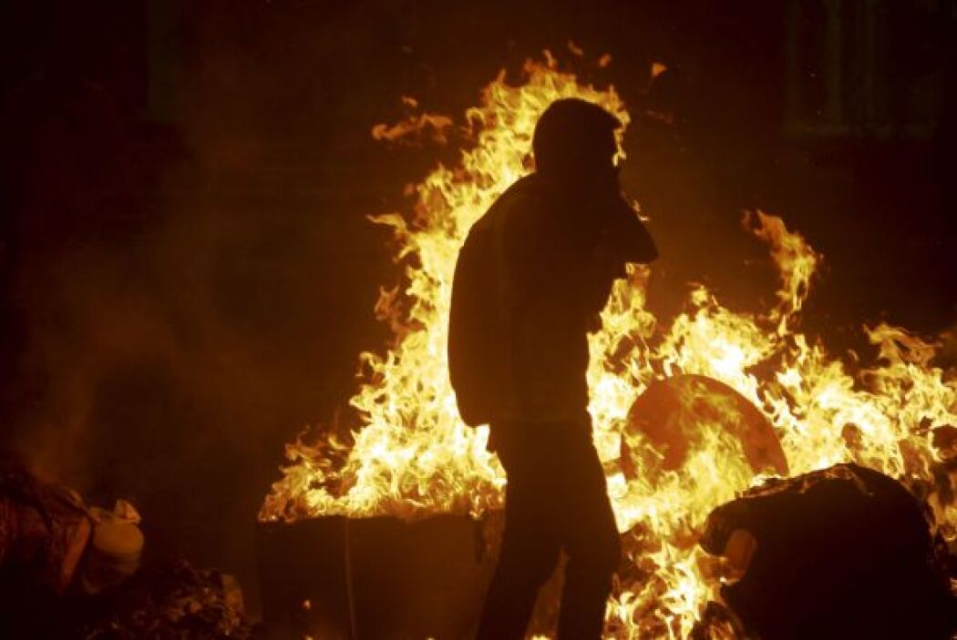 Los disturbios causados durante las protestas han dejado al menos cinco...