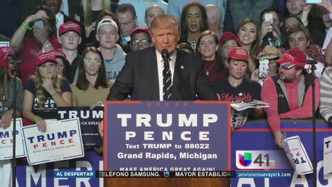 Donald Trump votará en Manhattan