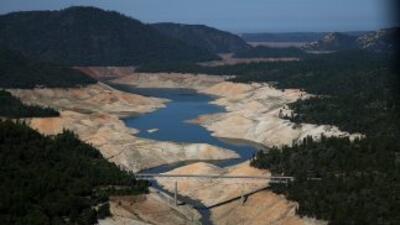 California está atravesando por una fuerte sequía desde hace tres años....