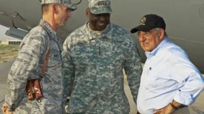 El nuevo secretario de Defensa de Estados Unidos, León Panetta, llegó el...
