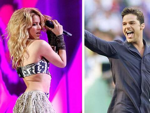 ¿'Waka Waka' o 'Copa de la Vida'? Shakira y Ricky Martin llegaron...