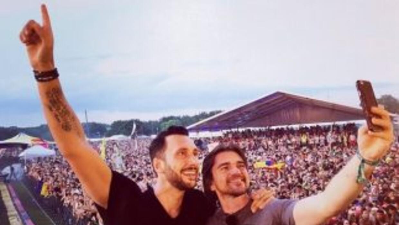 Juanes cantó por primera vez con Cedric Gervais a360fc34c25948d481070cc2...