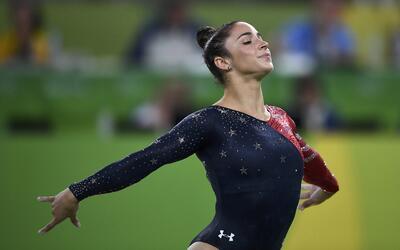 Aly Raisman es la capitana del equipo de gimnastas estadounidenses y est...