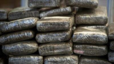 Poco más de 10 toneladas de marihuana que presuntamente pertenecen a Joa...
