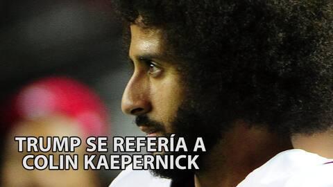 Trump asegura que debido a su Twitter, Colin Kaepernick no tiene equipo