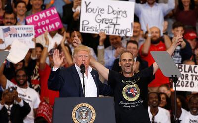 Conoce a Gene Huber, el simpatizante de Donald Trump que hizo su sueño r...