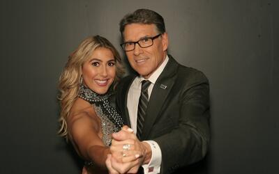 Emma Slater y Rick Perry, exgobernador de Texas, será pareja de b...