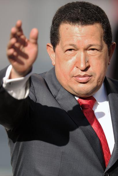 Más temprano, en otro acto proselitista en Caracas, el presidente venezo...