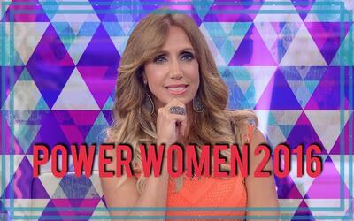 Lili Estefan está en la lista Power Women 2016 de la revista Moves.