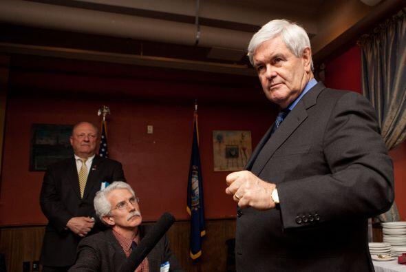 Newt Gingrich, de 67 años, ya anunció oficialmente su intención por medi...