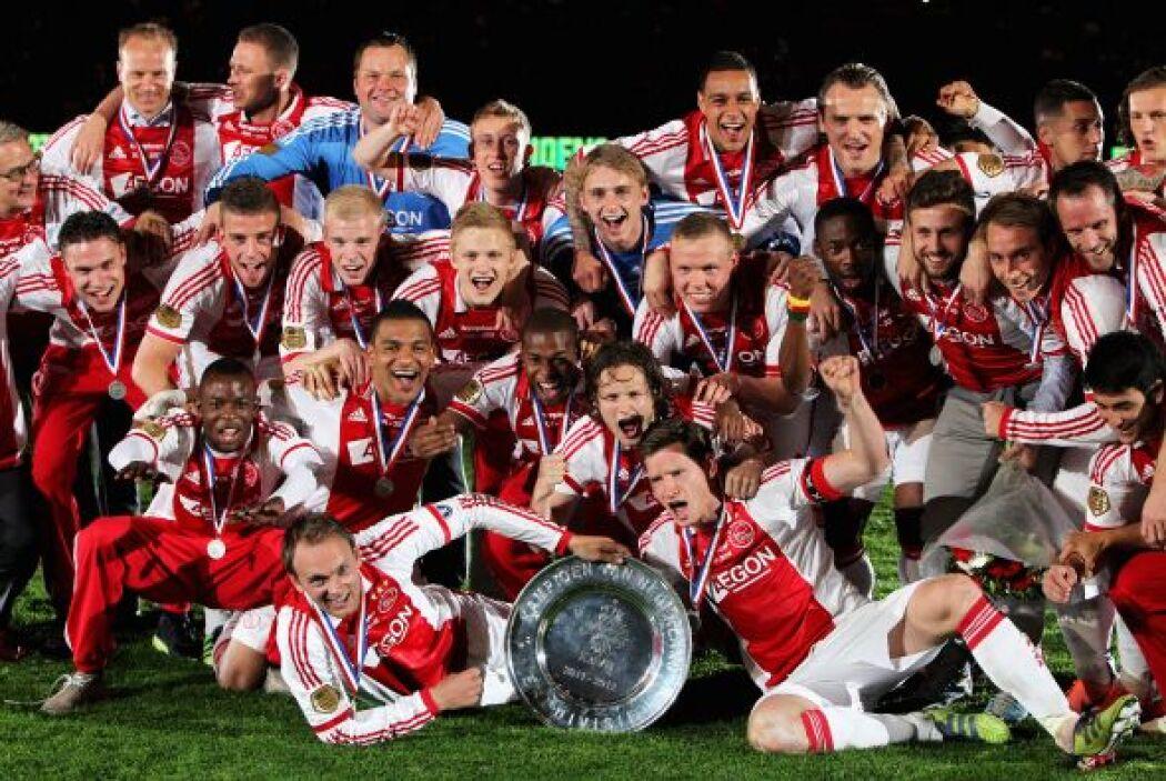 La Eredivisie de Holanda repitió a su campeón, el Ajax de Amsterdam. El...