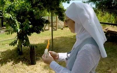 Estas monjas no viven en un convento ni hornean hostias si no que cultiv...
