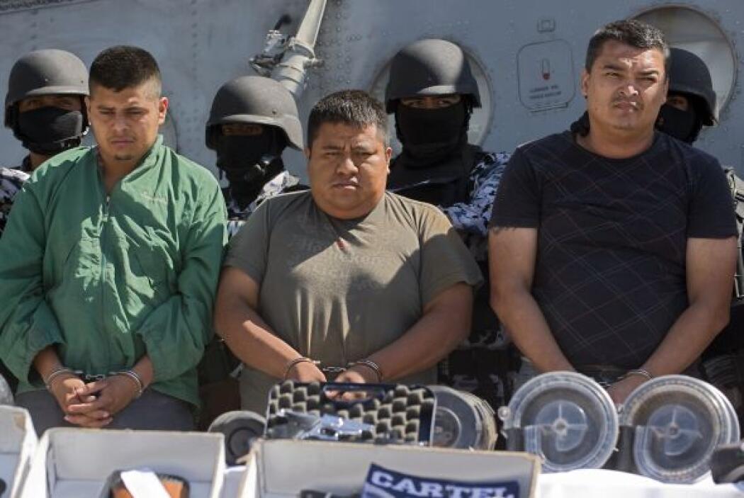 """Y es que a pesar de las diversas detenciones de """"los grandes"""" del narco,..."""