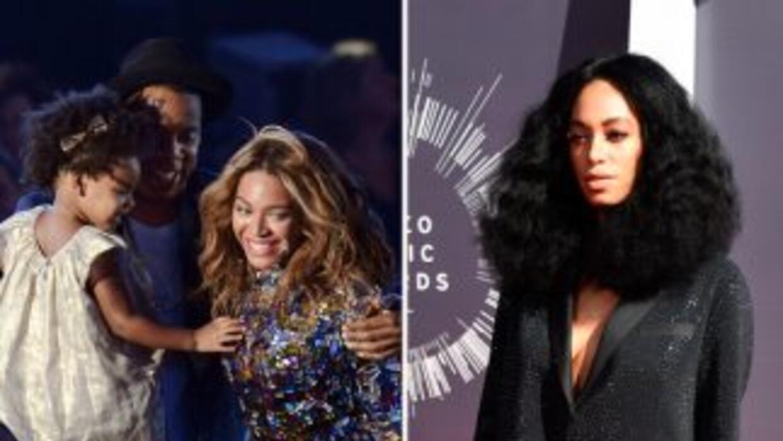 Solange Knowless no se sentó al lado de la familia Carter en los MTV VMA'S