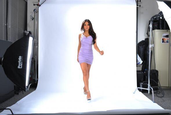 En el 2009 tuvo la oportunidad de ser la encargada del backstage de S&aa...