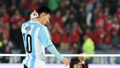El argentino y su familia no la pasaron bien en la final de Copa América