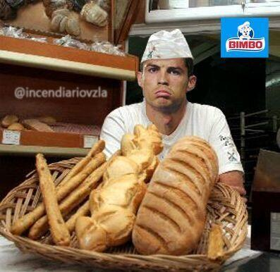 Así terminó tras el término del show. ¡A vender su pan!Todo sobre el Mun...