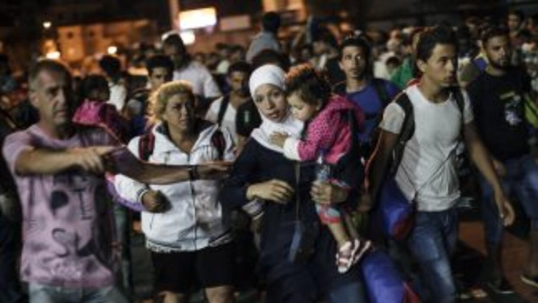 La crisis migratoria en Europa causa tensión entre las naciones.