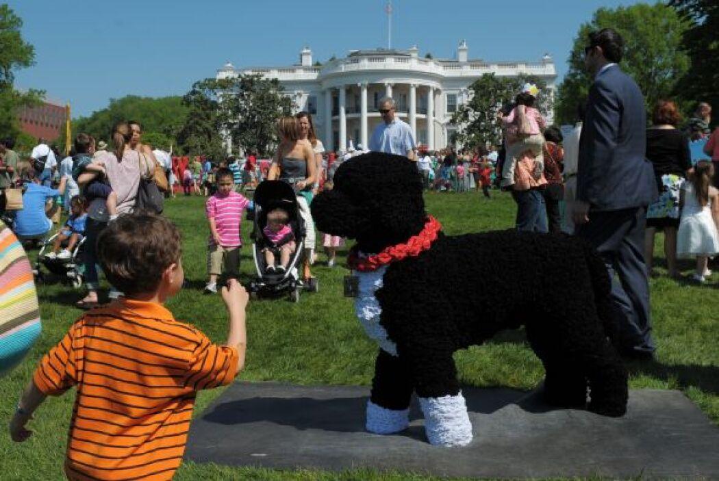 Pero de inmediato, el entonces pequeño Bo robó también miradas y suspiro...
