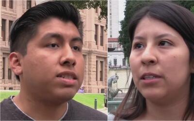 Texas analiza una propuesta de ley que impediría a estudiantes con DACA...