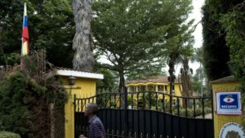 Embajada de Venezuela en Kenia.