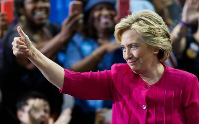Clinton comienza oficialmente su campaña en Pennsylvania y Ohio