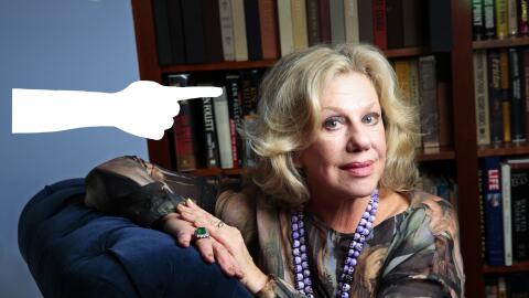 Author Erica Jong wrote 'Fear of Flying,'
