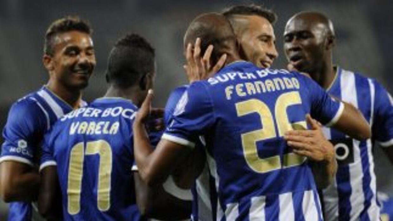 Fernando, así como Jackson Martínez, marcaron los goles para el triunfo...