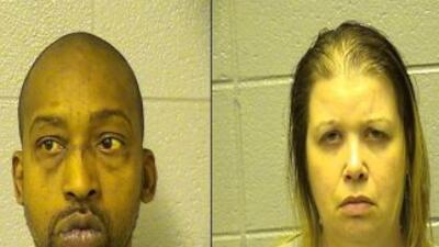 Pierre Scarbrough y Faith Alston Foto: Cook Co. Sheriff Office