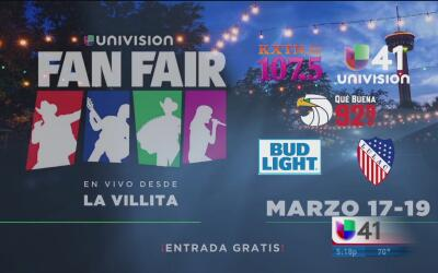 Arranca el Fan Fair de Univision en San Antonio
